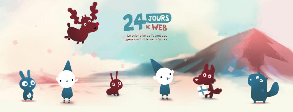 Illustration des 24 jours de web