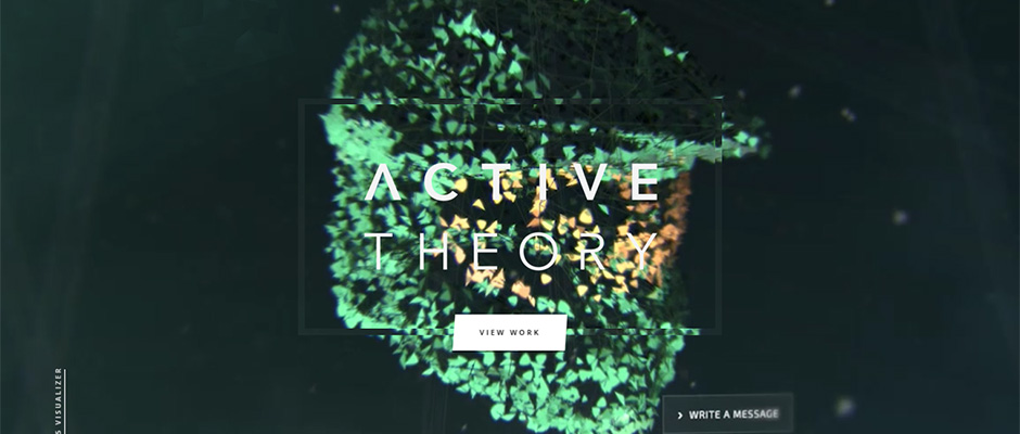 Active Theory home