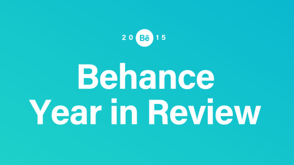 Behance - Year in Review