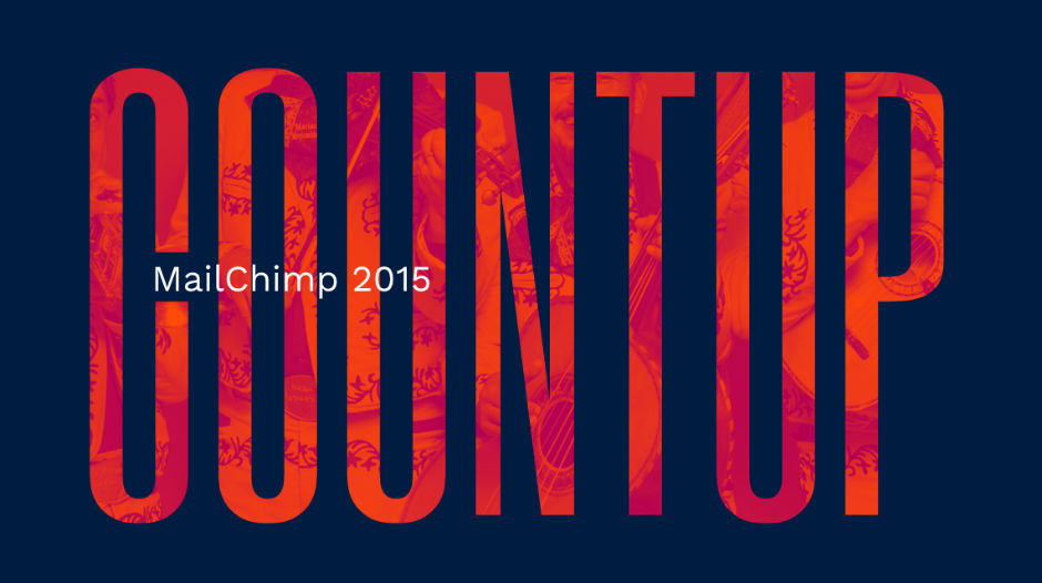 MailChimp Count Up 2015