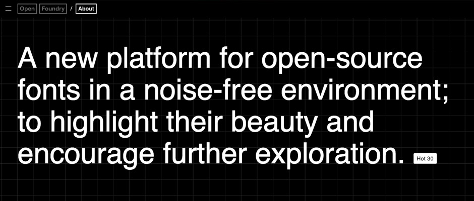 OpenFoundry, font open source