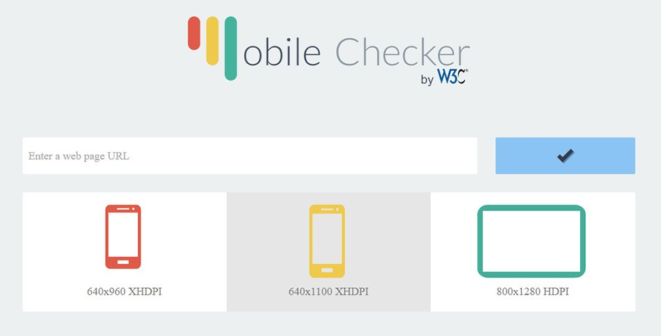 W3C Mobile Checker