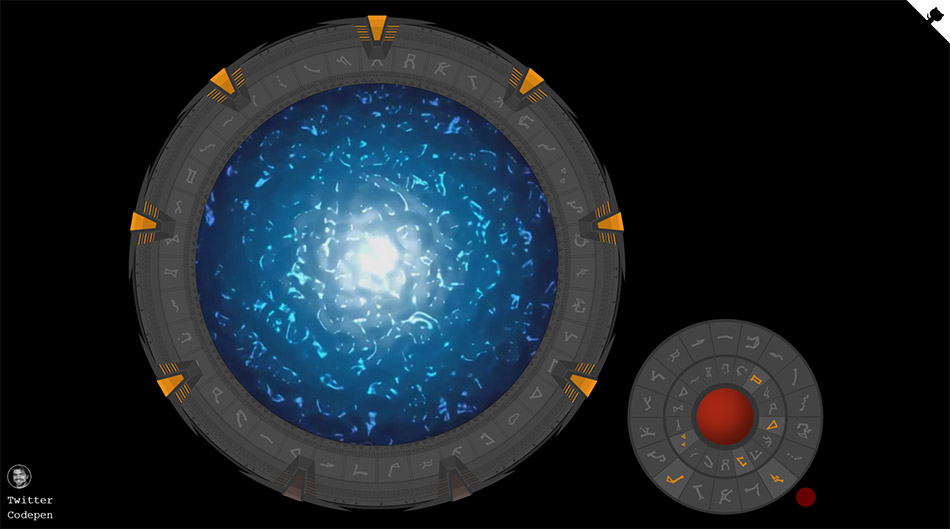 Stargate en CSS