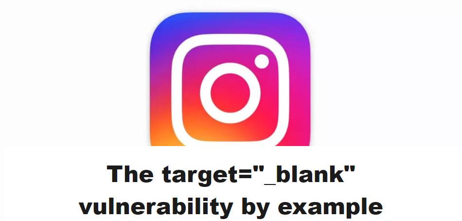 Vulnérabilité target=_blank