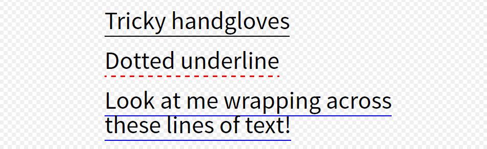 Souligner un texte avec border-bottom