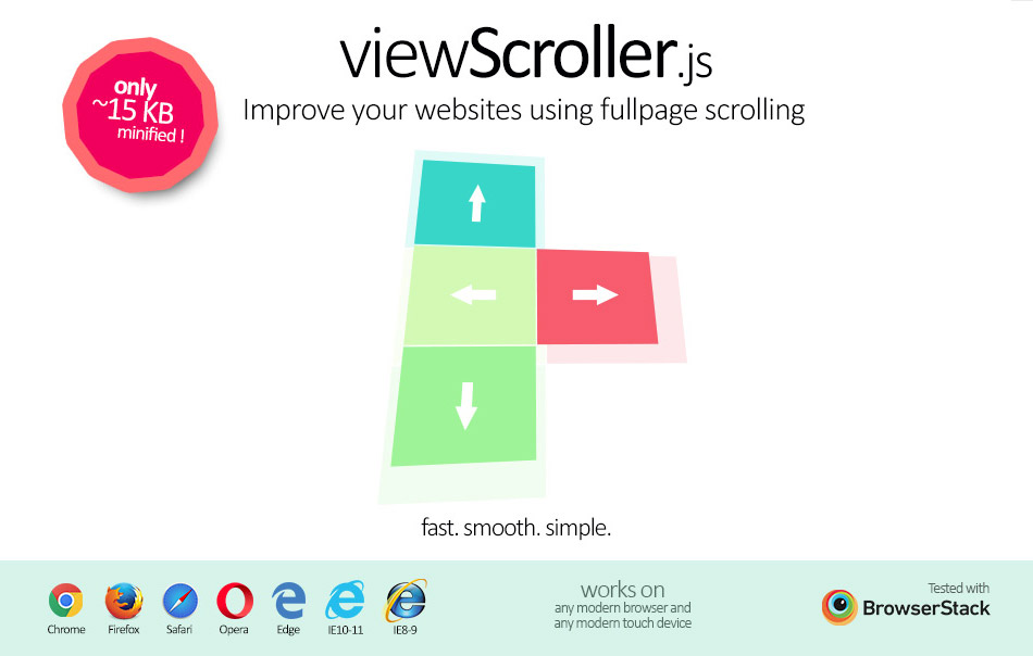 ViewScroller.js : faciliter le scrolling