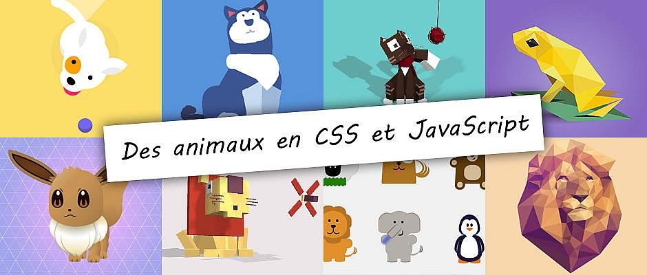 Animaux en CSS et JS