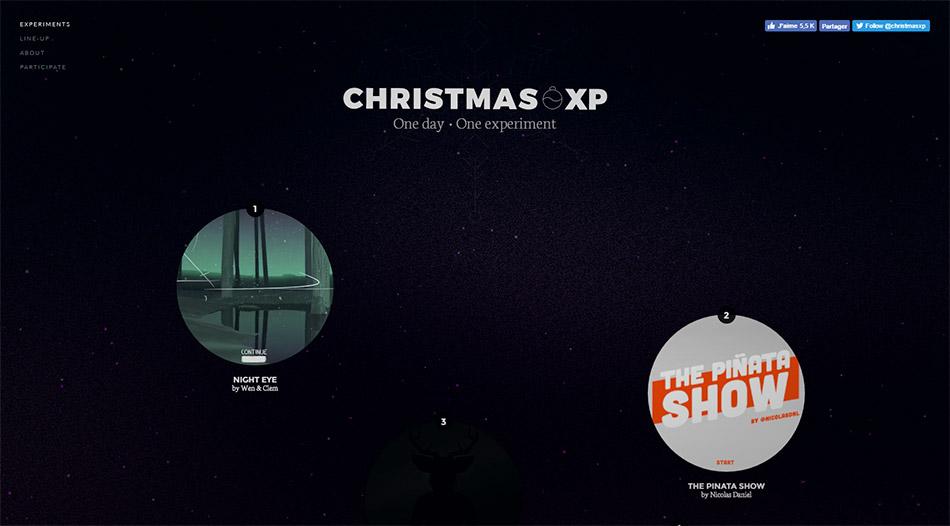 Christmas XP - 1 jour, 1 expérimentation