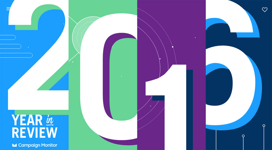 Behance - Year in Review 2016