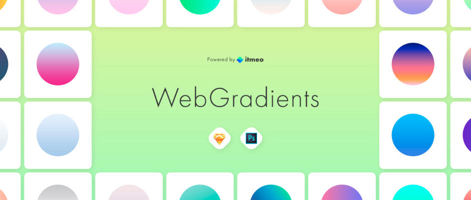 WebGradients : collection de dégradés à télécharger
