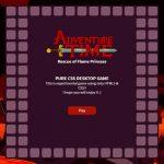 Adventure Time : jeu entièrement réalisé en CSS