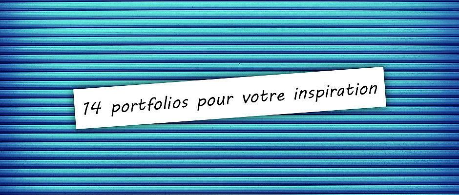 14 portfolios pour votre inspiration