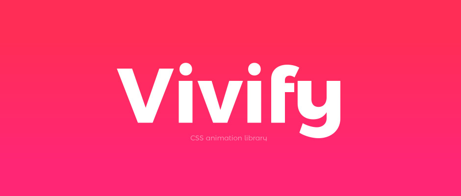 Vivify, animations CSS