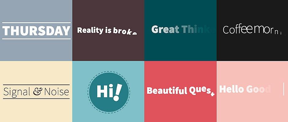 16 animations de lettres et mots
