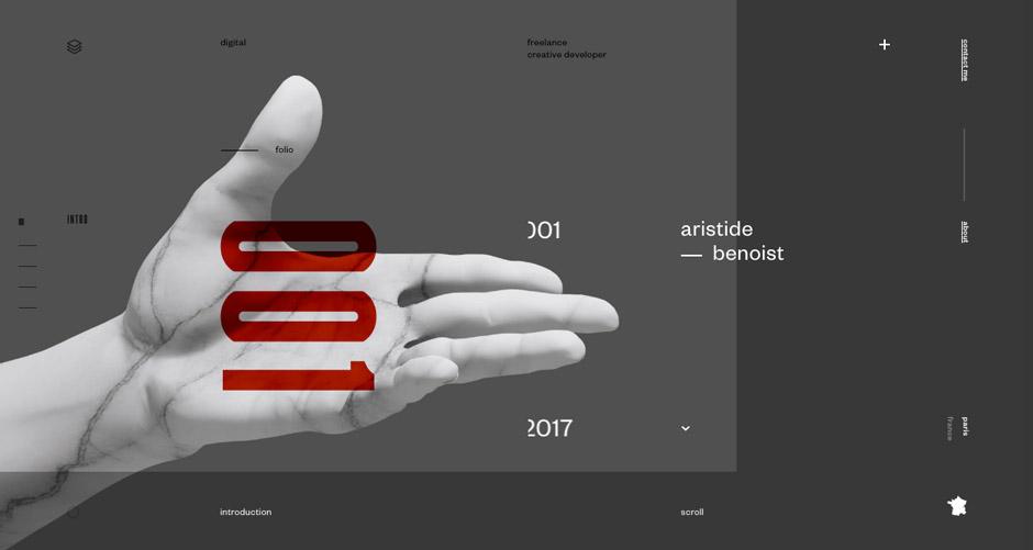 Beau site 2017 - Aristide Benoist