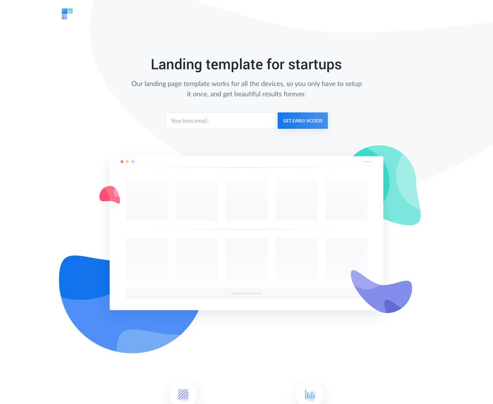 Cruip : template HTML de landing page