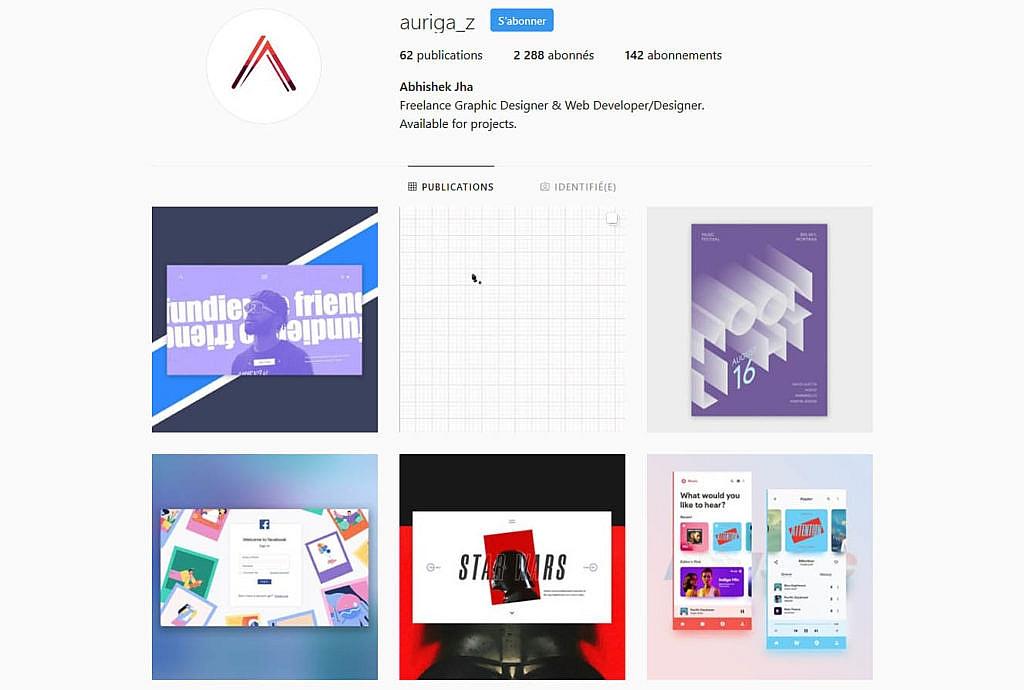 Compte instagram auriga_z