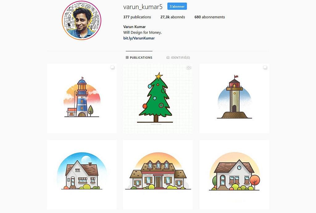 Compte instagram varun_kumar5