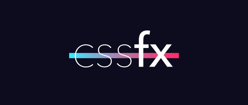 cssfx : une bibliothèque d'effets CSS