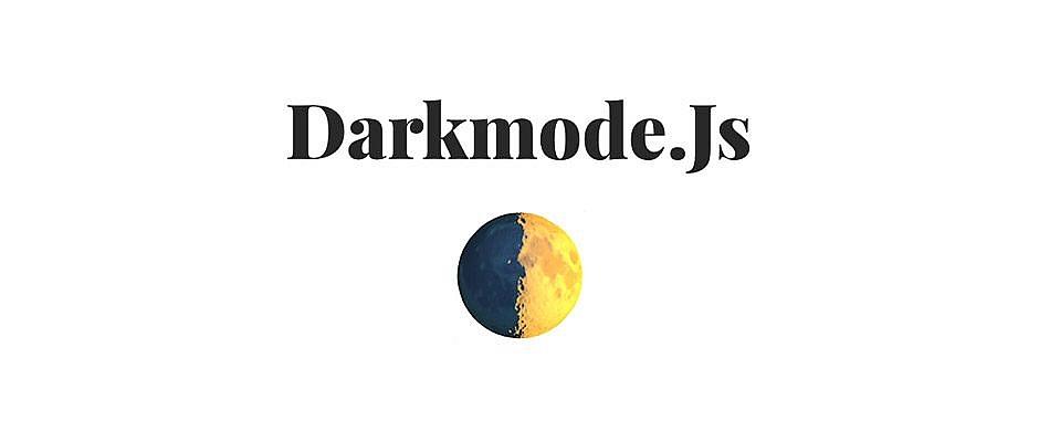 Darkmode.js : bibliothèqe JavaScript pour mettre en place un mode nuit