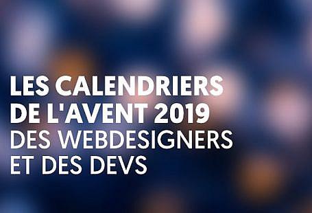 Les calendriers de l'avent 2019 à suivre