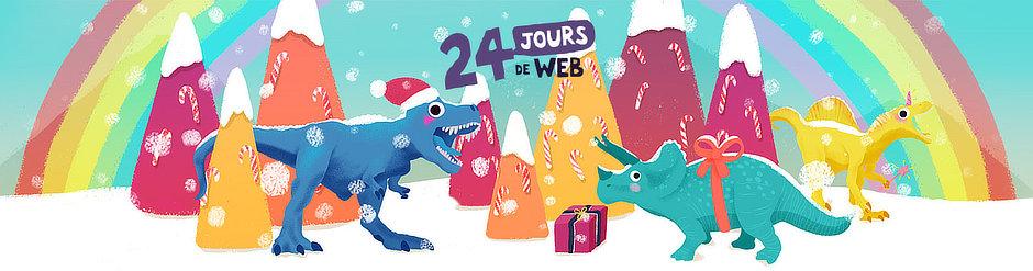 Calendrier de l'avent : 24 jours de web