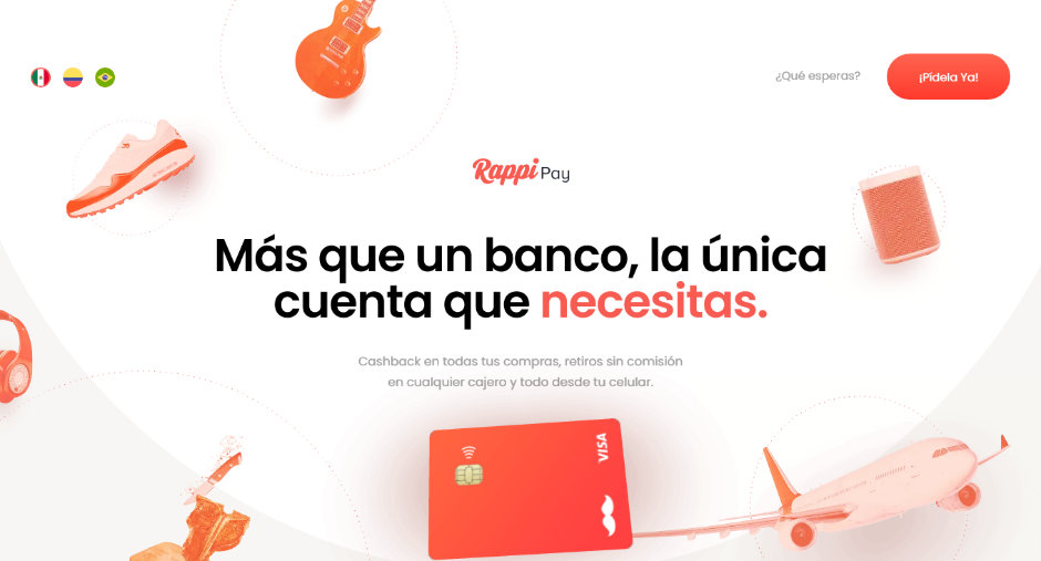 Beau site 2019 - Rappi pay