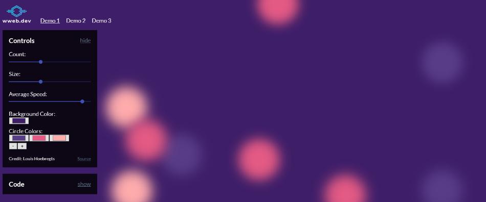 CSS background generator