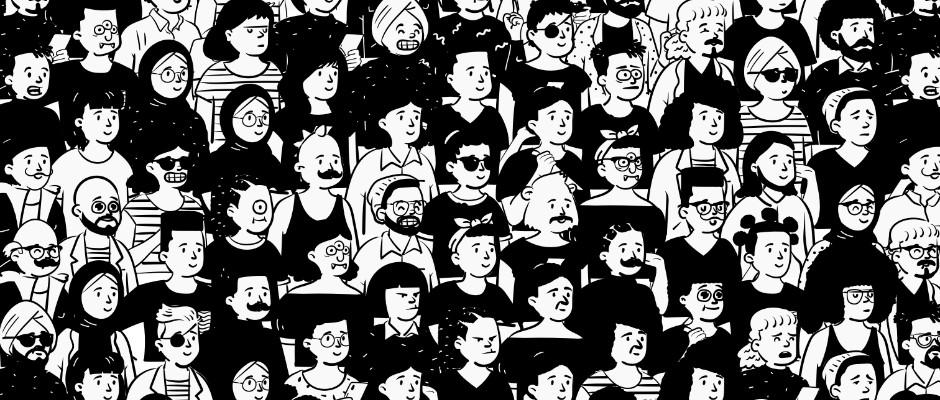Open Peeps : bibliothèque d'illustration de personnages