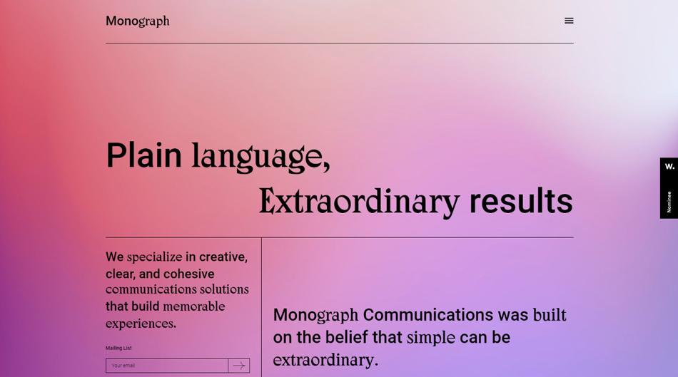 Monograph Communications